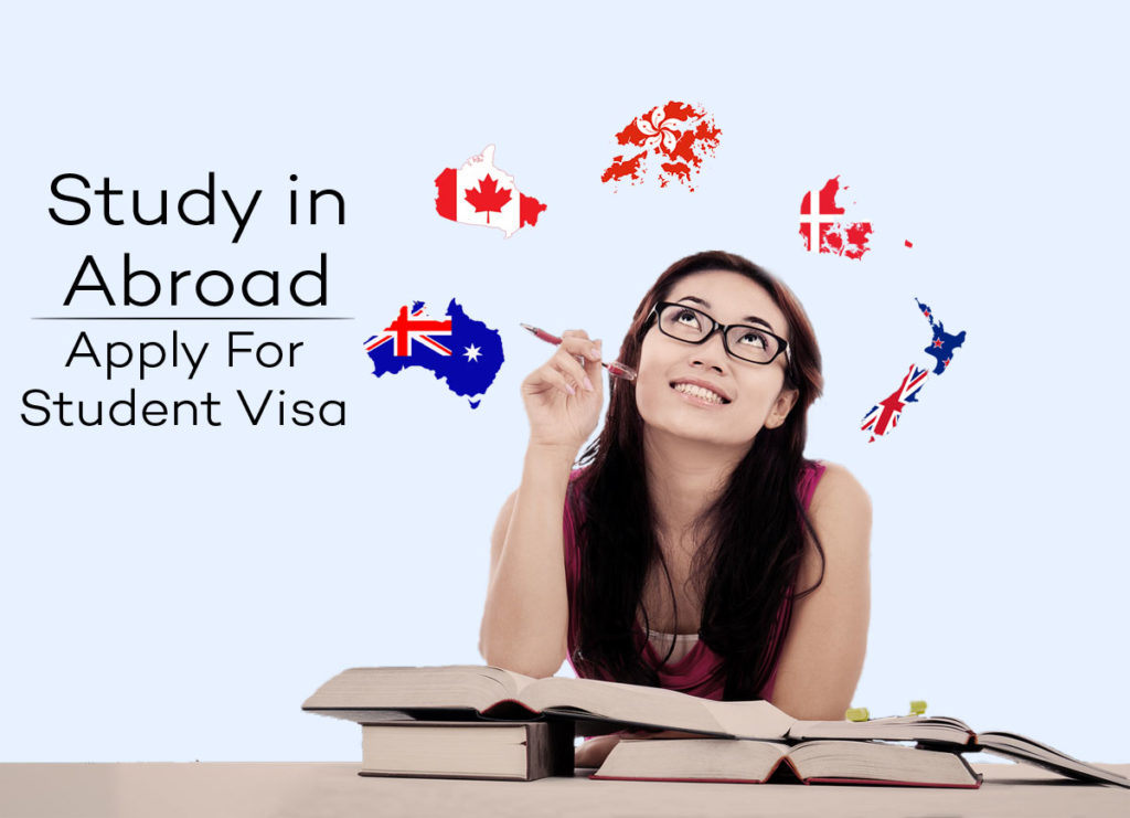 study in abroad apply for student visa